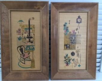 Vintage Early American Prints (Set of 4)