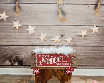 Digital Prop Backdrop for Newborn Photography Christmas