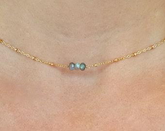 Mini Bar Satellite Necklace