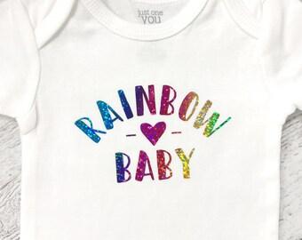 Rainbow Baby Clothes/Bodysuit