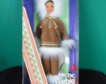 Mattel Dolls of the World Arctic Barbie Doll