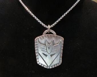 Decepticon Pendant