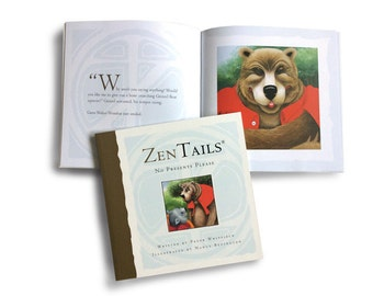 Childrens Book, Zen Tails, classic philosophical stories adapted for children. Animal teachers, students and fools, fun with a moral twist.