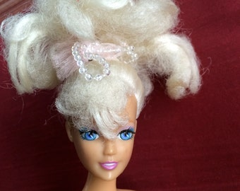 Blonde Barbie,White Hair Barbie,Twist Barbie,Glamorous Barbie,Teen Doll,12 Inch Doll,China Barbie,Barbie Doll,90s Barbie,Poseable Barbie