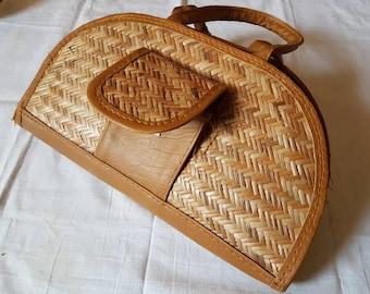 Eco friendly ladies handbag made from Bamboo Tulda