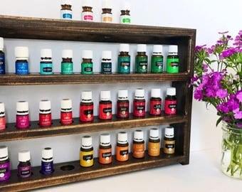Essential Oils Shelf