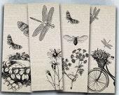 75 % OFF vente BW insectes - feuille de collage numérique vintage signet B021 imprimable télécharger dépliant hexapode de collage de flyer de l'image numérique bugs