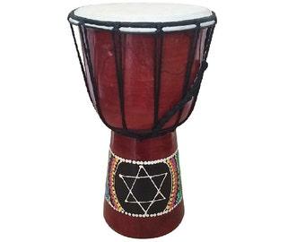 "12"" , Djembe, jembe, jenbe, djimbe, Darbuka, Oriental African Drum , Doumbek"