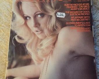 Vintage penthouse magazine november 1972