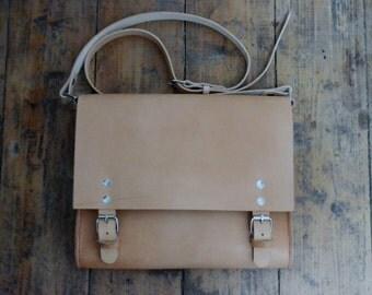 Vegetable Tanned Messenger Bag