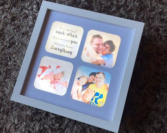 Light Up Box Frame, Light Up Photo Frame, Photo Collage, LED Frame