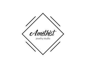 Minimalist Logo, Modern Logo, Jewelry Logo, Photography Logo, Premade Logo, Logo Design, Business Logo, Blog Logo, Fashion Logo