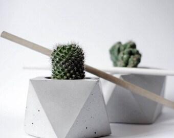 FORMA | Concrete Geometric Planter