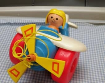 Fisher Price Airplane #171 with original string