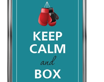 Keep Calm poster - Art Print - Keep Calm Art -  Prints - Posters - Motivational quotes - Poster Keep - Keep calm and box
