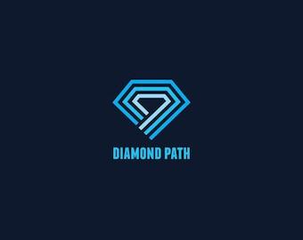 Diamond Path Logo Template