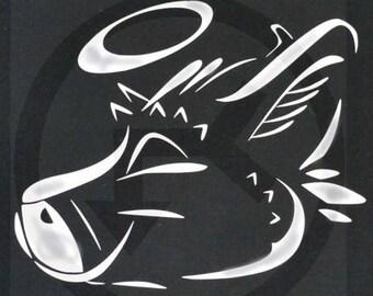 Dutch Angel Dragon Logo Decal