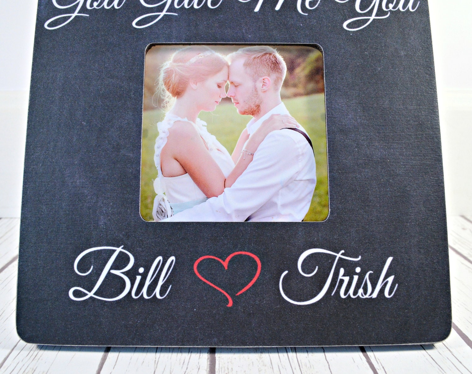 On sale first dance wedding song picture frame god gave me you 1999 jeuxipadfo Gallery