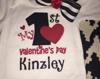 Valentine's Day onesie