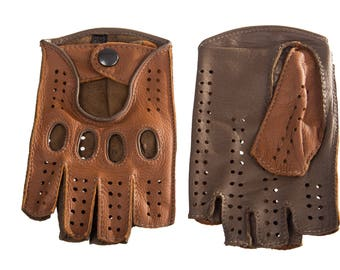 Men's Driving Gloves Handmade Hungant Gloves from deerskin leather
