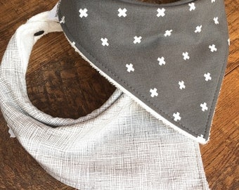 gender neutral Bib baby bib Bandana Bib Organic Bamboo Terry Bib baby gift for boy gift for baby girl bib for girl gift for baby