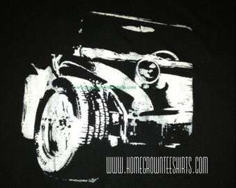 Vw Dune buggy t shirt one of a kind, never the same colors #18