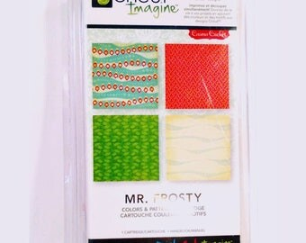 NEW Cricut Imagine Colors & Patterns Mr. Frosty for Scrapbooking, Quilting, Planners or Journals