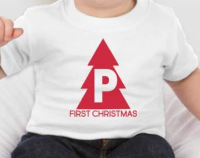 Baby's 1st Christmas Tshirt