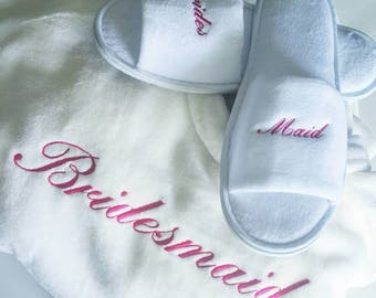 Personalised Plush Robe