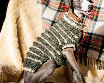 Knit Your Own Dog Jumper Kit - XS