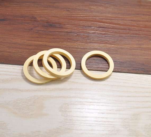 20pcs wood crafthollow out wooden rings accessoriesring for Wooden rings for crafts