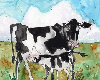 Mommy Milk Cow - PAiNtBABies - PRINT