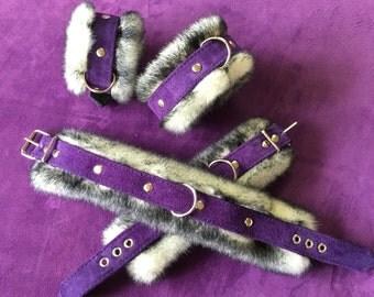 Faux Fur Lined Cuffs
