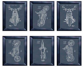 Harley Print Harley Davidson Wall Art Motorcycle Decor Fathers Day Gift 4  Spouse Harley Davidson Part 86