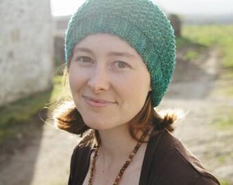 Kelpie Hat ~ PRINT COPY ~ Simple Crochet Hatl Pattern