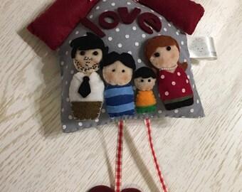 Fuoriporta felt family