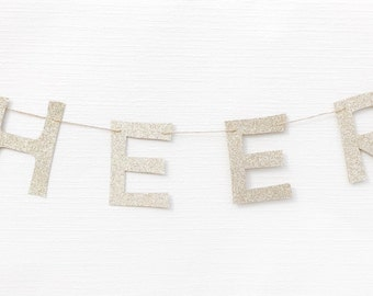 Cheers Garland | Cheers Decor | Cheers Banner | Cheers Decoration | New Years Eve Decor | Bachelorette Garland | Bachlorette Decor