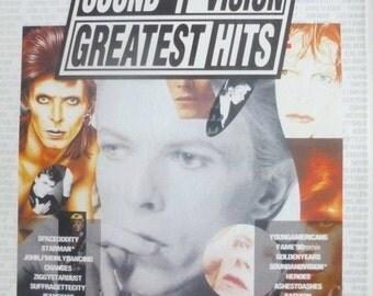 David Bowie - Sound & Vision - Mounted Original Press Poster