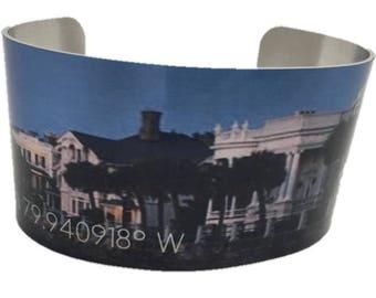 Charleston SC Cuff Bracelet
