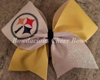 Pittsburgh Steelers Cheer Bow