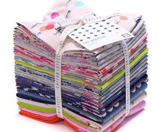 """Cotton + Steel Fabric - """"Jubilee""""-Fat Quarter Bundle, by Melody Miller,  20 different fat quarters, modern fabric, dress up fabric"""
