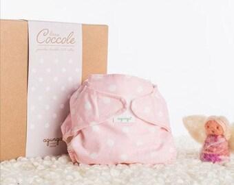 Cloth Diaper Elegant Pink Panties + Buffer