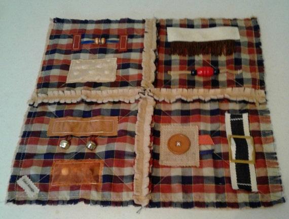 Fidget Mat For Alzheimer S Dementia Patients Rag Quilt