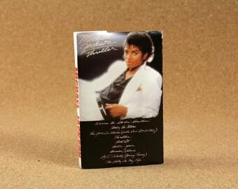 Michael Jackson - Thriller Cassette Tape - Epic Records - Funk/Soul - Near Mint Condition