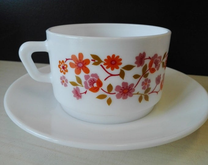 Arcopal scania, Cup and saucers, soup