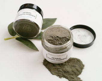 Herbal TOOTH POWDER | Vegan tooth care | Teeth cleanser |  Natural ToothPaste |  Oral care