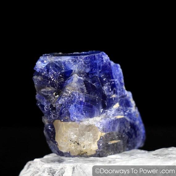 Museum Tanzanite: Tanzanite Specimen Record Keeper Crystal