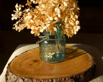 "Wood Slice Cherry 10"" (25 available) for Wedding Reception Home Table Centerpiece - Glossy, Matte or Rustic Finish"