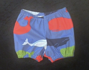 "Baby boys shark pants, Diapers for boys, Clothing for baby boys, size 6-12 months, ""READY TO SHIP"""