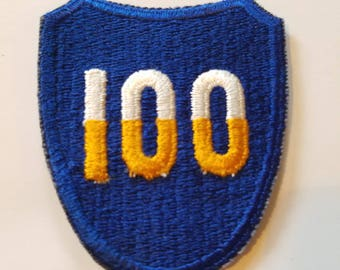 US army 100th infantry division embroidered patch
